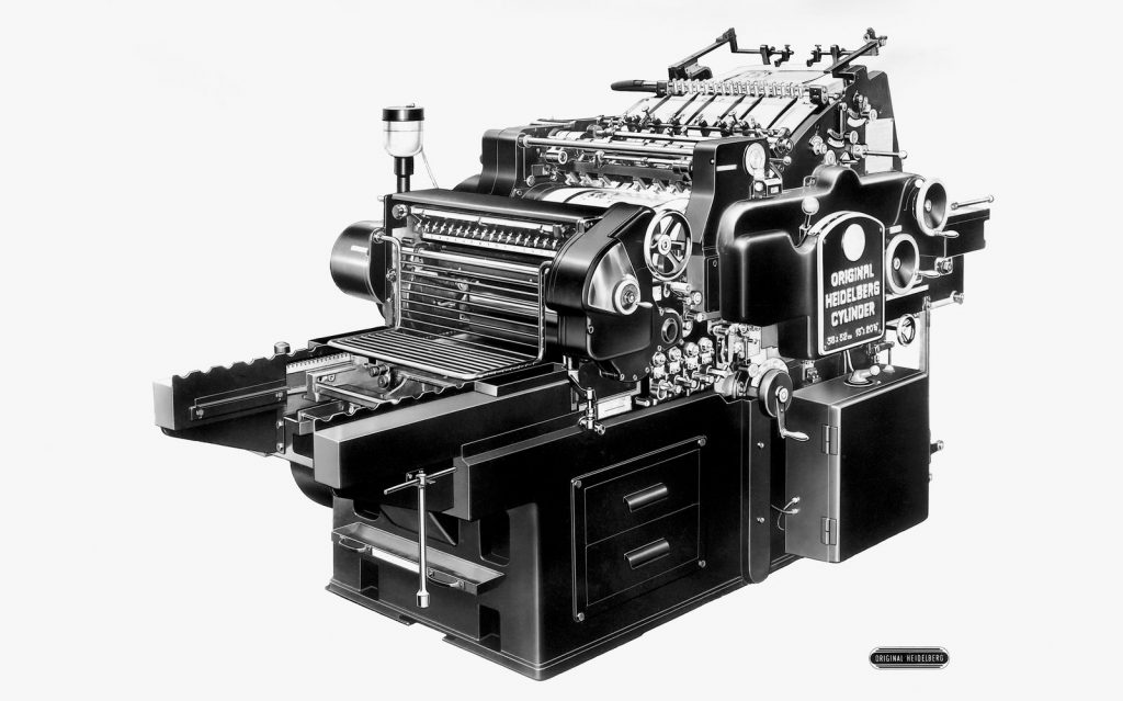 Einweihung Werk Wiesloch / Internationale Vertretertagung / 13.-15.Juli.1957 / Jubilèumsmappe / Original Heidelberg Zylinder 38x52cm