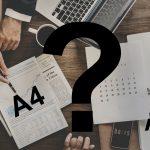 Jakie są formaty papierów płaskich?